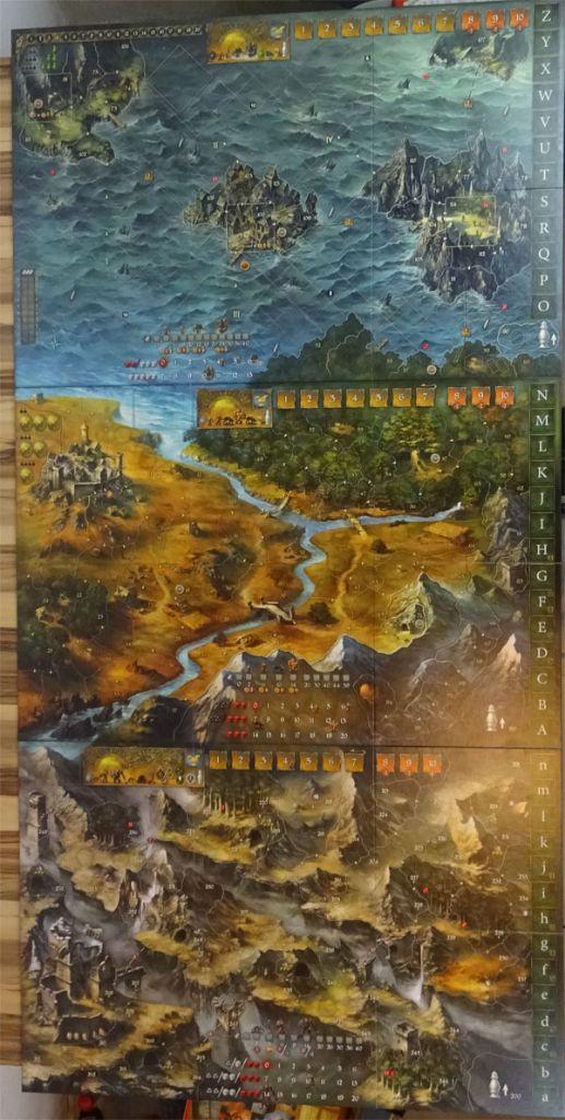 Die Legenden von Andor Spielpläne