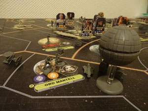 Star Wars Rebellion Spielsituation