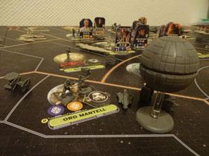 Star Wars Rebellion Spielsituation