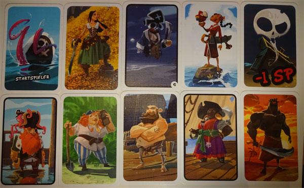 Alle Mann an Deck Karten