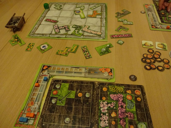 Cottage Garden Spielsituation