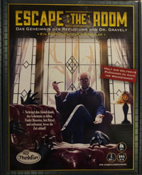Escape the Room - Das Geheomnis des Refugiums von Dr. Gravely Cover