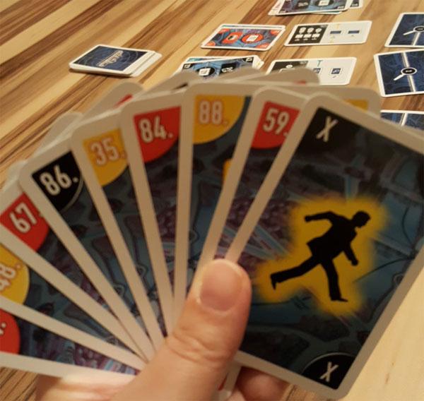 Scotland Yard - Kartenspiel Kartenhand