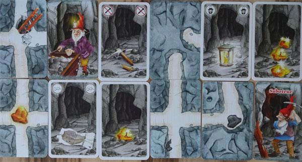 Saboteur Karten