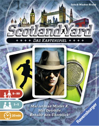 Scotland Yard Kartenspiel Cover