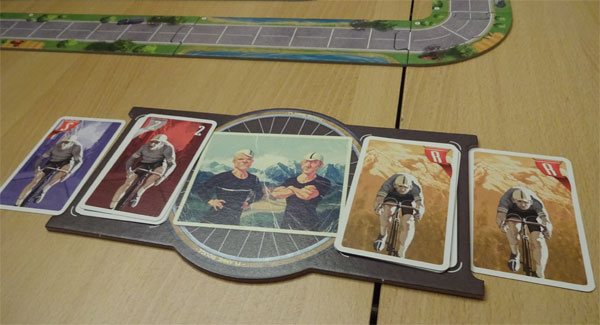 Flamme Rouge Spielertableau
