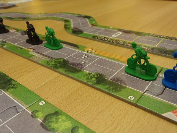 Flamme Rouge Spielsituation
