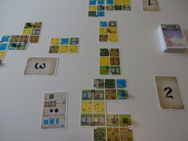 Honshu Spielsituation