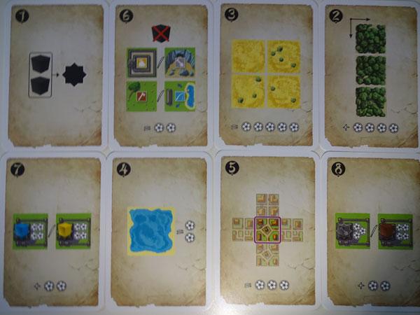 Honshu Wertungskarten