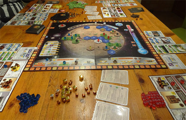 Terraforming Mars Spielsituation