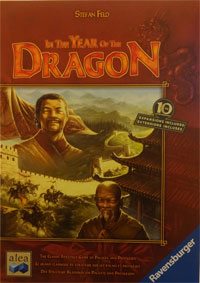 In the year of the Dragon Cover