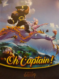 Oh Captain! Cover