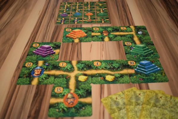 Karuba - Das Kartenspiel Spielsituation