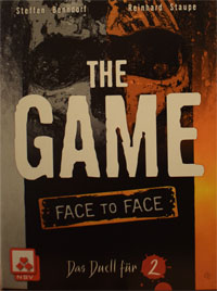 The Game - Face To Face Cover