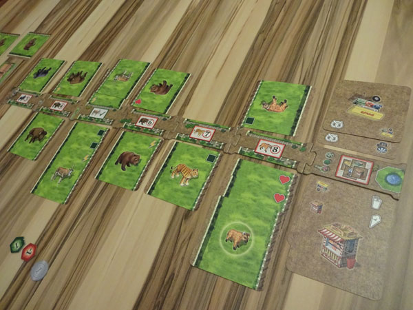 Zooloretto Duell Spielsituation
