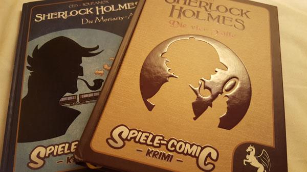 Sherlock Holmes Rätsel-Comics