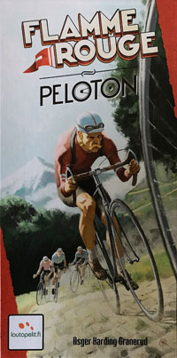 Flamme Rouge Peloton Cover