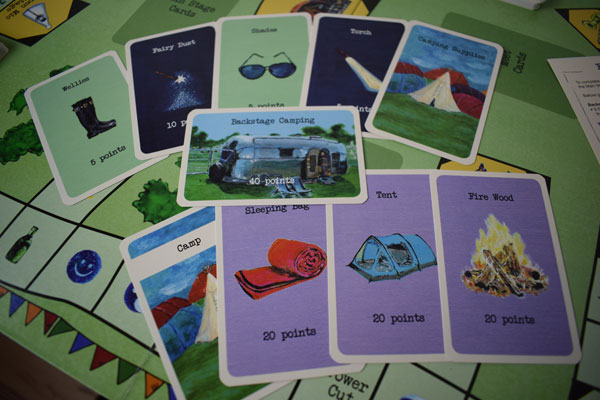 Festival Board Game Karten