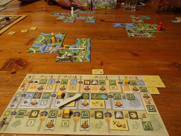 Isle of Skye - Wanderer Spielsituation