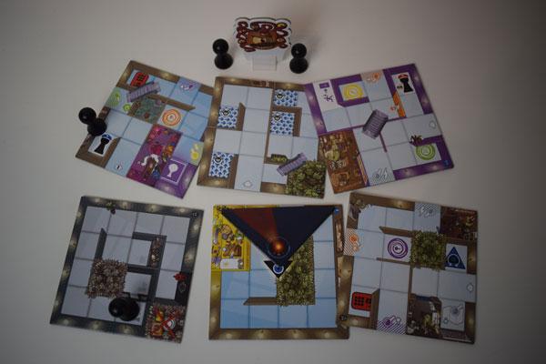 Magic Maze Erweiterung SpielmaterialHerausfordernd