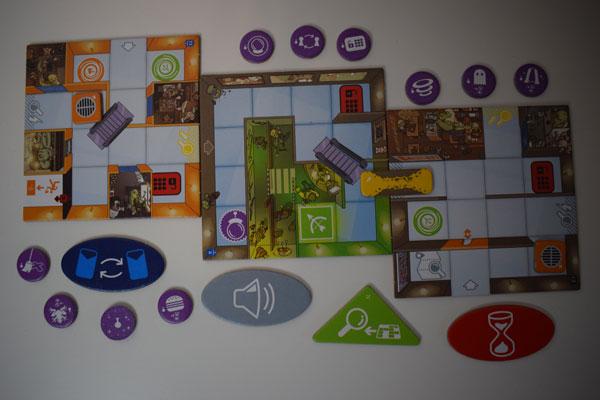 Magic Maze Erweiterung SpielmaterialPositiv