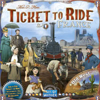 Ticket to Ride France Cover
