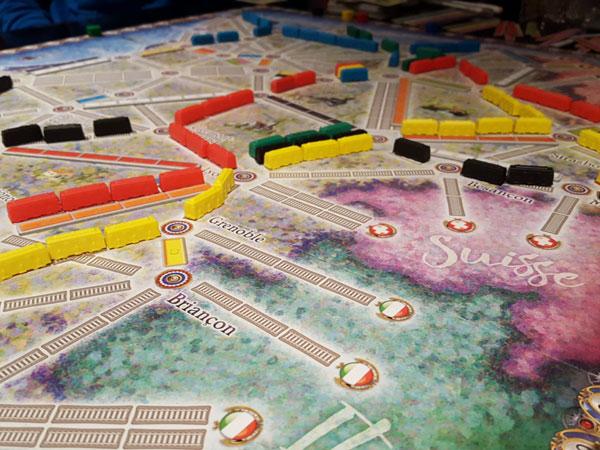 Zug um Zug Frankreich / Spielsituation
