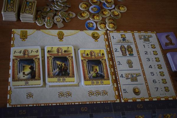 Luxor Spielmaterial