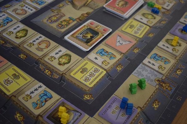 Luxor Spielplan