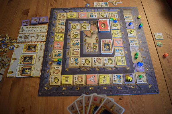 Luxor Spielsituation