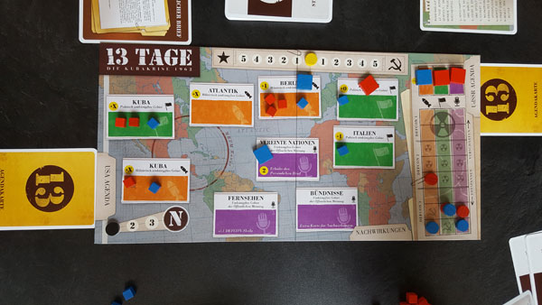 13 Tage Spielsituation