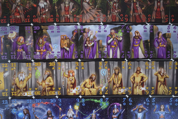 Druids Spielkarten