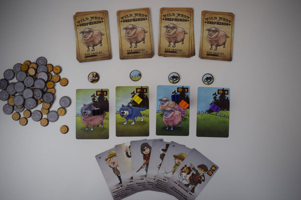 Wild West Shepherd Spielsituation