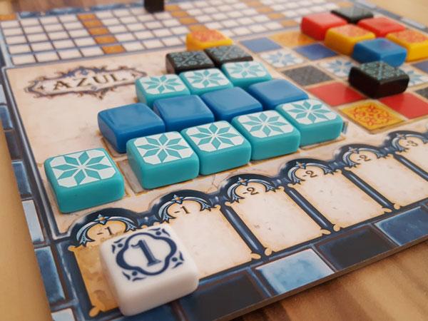 Azul Spielertableau