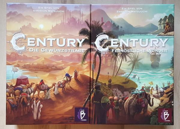 Century I und II Cover