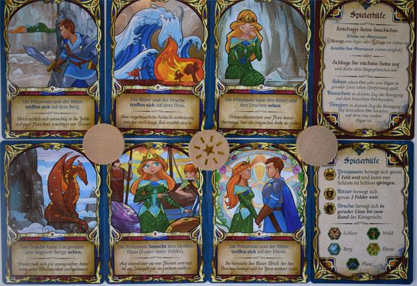 Fairy Tile Spielkarten
