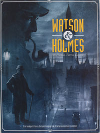 Watson & Holmes Cover