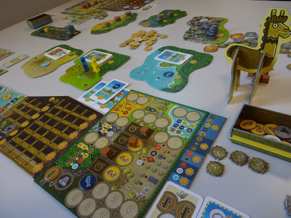 Altiplano Spielsituation