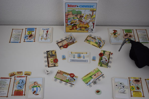 Asterix & Obelix Spielsituation