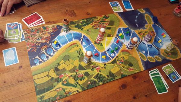 Lighthouse Run Spielsituation