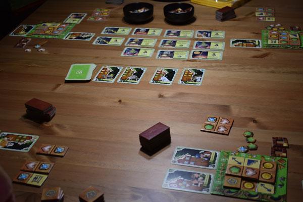 Hexenhaus Spielsituation