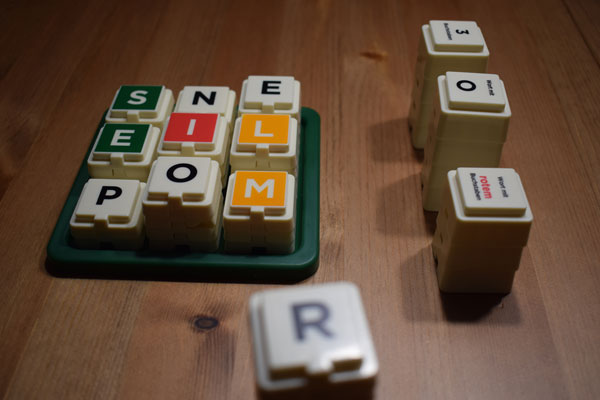Scrabble Türme Spielsituation