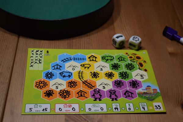 Sunflower Valley Spielsituation
