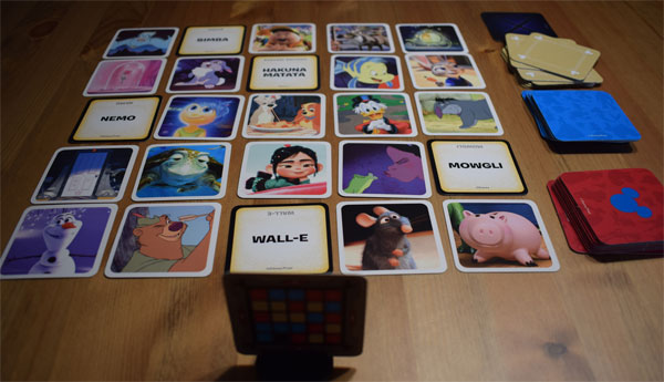 Codenames Disney Spielsituation