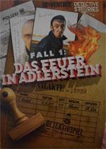 Detective Stories: Das Feuer von Adlerstein Cover