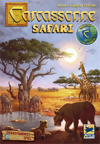 Carcassonnne Safari Cover