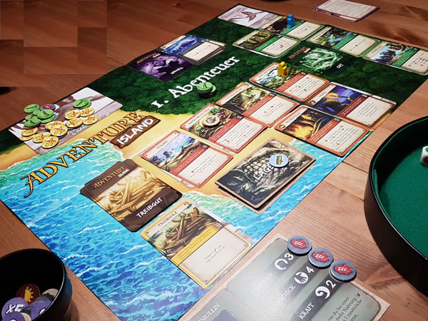 Adventure Island Spielplan