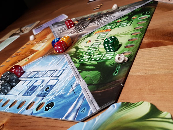 Roll for Adventure Spielsituation