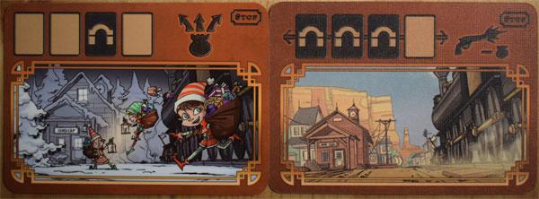 Colt Express Bahnhofskarten