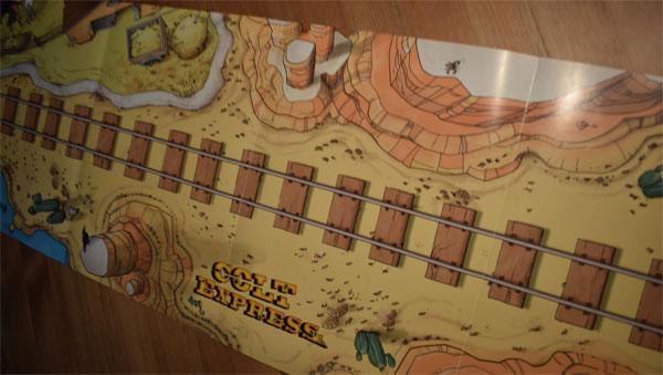 Colt Express Spielmatte